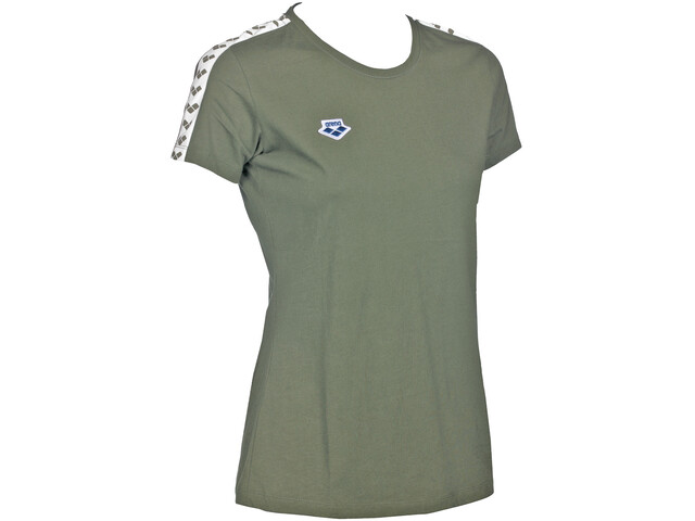 arena Team T-Shirt Damen army-white-army